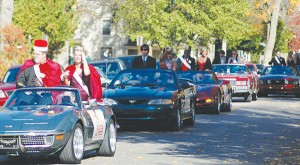 <span class='credit'>Torch File Photo</span><span class='description'>Pictured here are last year's homecoming king and queen candidates strutting their stuff in the parade.</span>