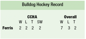 Bulldog Hockey Record