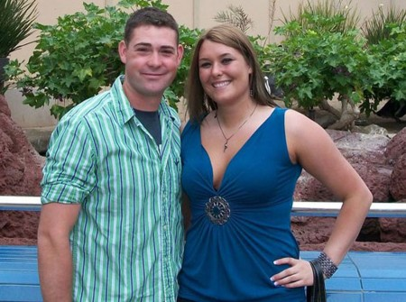 Staying Strong: Jonni Skiba, FSU student, and her fiance Eric Williams are in a long distance relationship. Skiba says she has seen her fiance an estimated 60 days throughout their three-year relationship. Photo Courtesy by Jonni Skiba