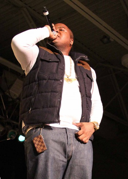 Full House: Sean Kingston performed at Ferris Fest on April 16. The concert was held in Wink Arena which hit maximum capacity during the event. Photo By: Brock Copus   Photographer