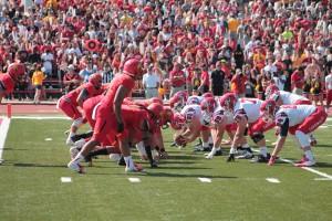 The Bulldogs defeated the SVSU Cardinals 35-18 at Top Taggart Field last Saturday during Homecoming.